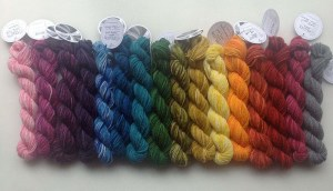 Perfectly Colorful Mini Skein Rainbow