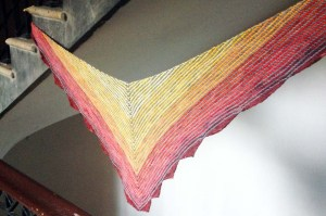 Perfectly Colorful Carousel Shawl