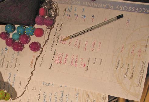 Tatio Knitting Worksheets