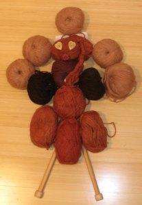 Thanksgiving Tips Yarn Turkey