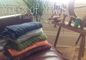 Fall Shawl Together: Shapes of Shawls