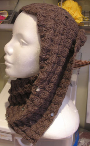 Esperance Cowl Left Side View