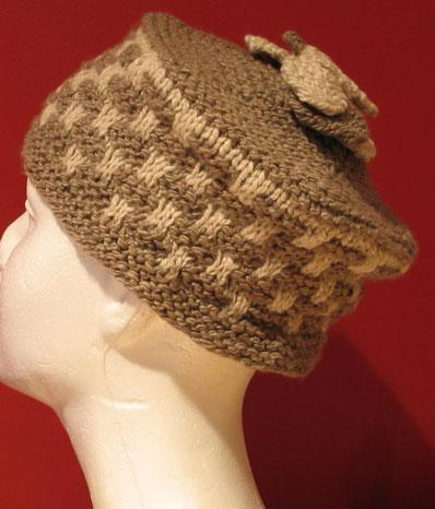 Cornice Hat Side View
