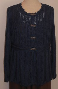 Knitting Story: Cardigan in Love of Knitting, Front