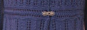 Knitting Story: Love of Knitting cardigan, Waistband