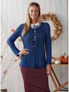 Jill in Love of Knitting: Victorian Lace Cardigan