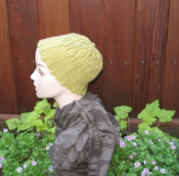 Lisse Hat Pattern Kauri-Side-View