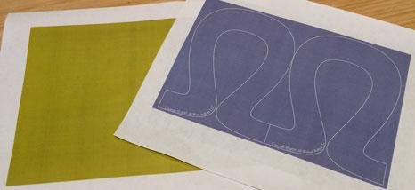 Paper Stitches: pre-cut