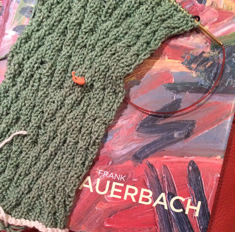 Routines Lead Ahead: Knitting and Art