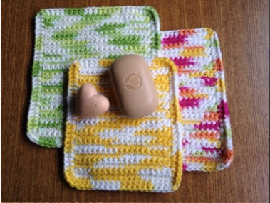 Bridgwater Craft: Crochet Cloths