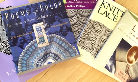 Knitting Traditions: A selection of traditional knitting books