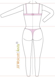 Industry Sizing: back croquis