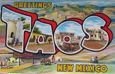 Taos: Historic Postcard
