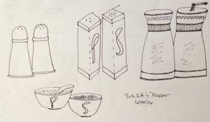 Stepping Away: Salt & Pepper