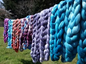 Jennie Powell, Indie Yarn and Fiber Dyer