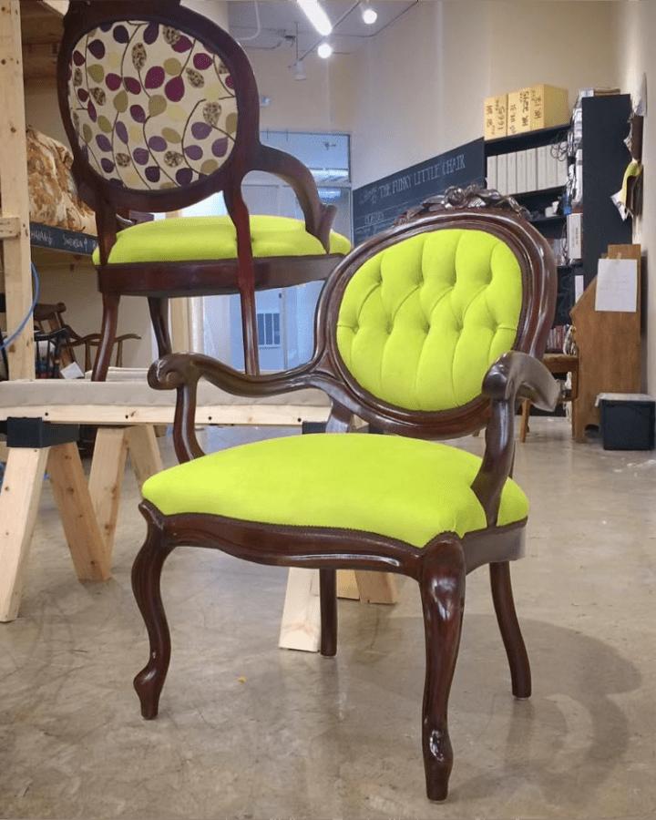 Cynthia Bleskachek: A sexy little chair