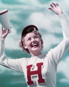 Sweater History: Cheerleader