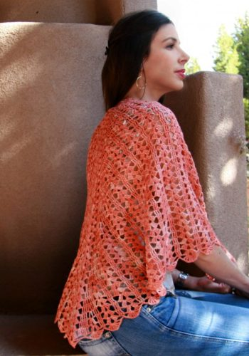 Ecliptic Crochet Shawl from A Garden of Shawls by Karen Whooley