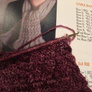 Knitting Comfortably: pattern flat