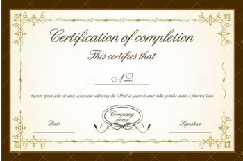 Grading All Segments: Certificate of Completion