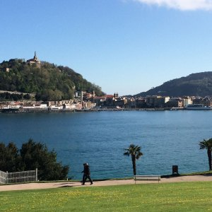 Spring 2017 Travel: The view from San Sebastian