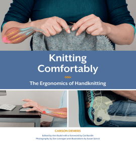 Carson Demers: Knitting Comfortably