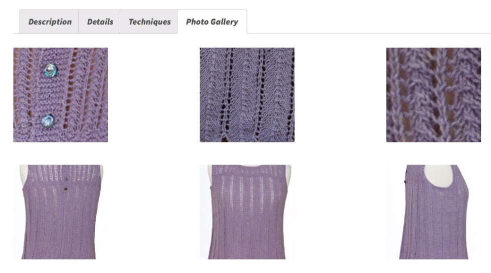 Pattern Preferences: More Photos