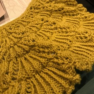 Japanese Knitting Stitch: unblocked