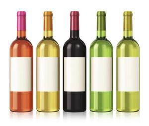 Yarn Fibers: wine bottle