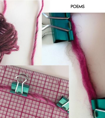 Twists per inch: Poems and single ply twist