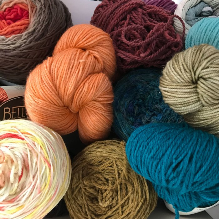 Yarn and Color: Another group shot