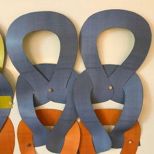 Garter Stitch: Stockinette ITR in paper stitches