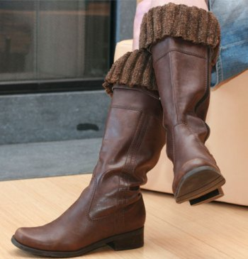Flounce Boot Toppers: casual boots