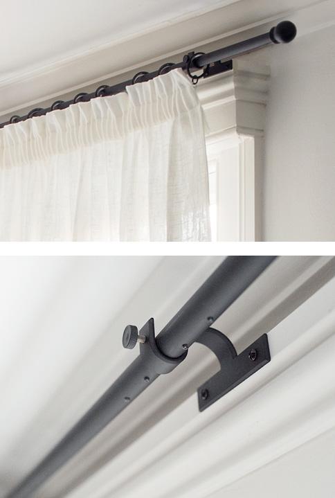 stylish ironwork bay window poles