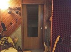 Recording Studio entrance