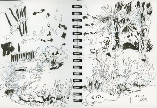 Oregon Garden Stream Ink