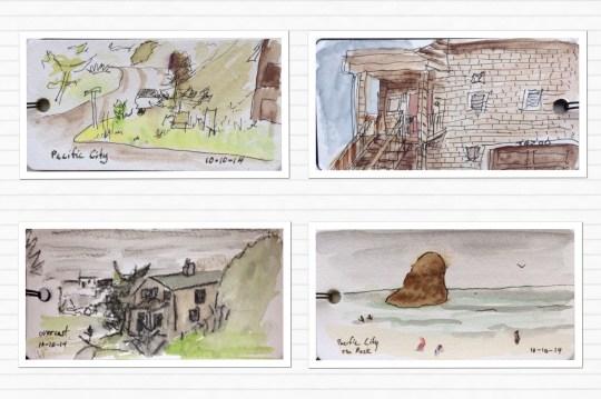 Coast Sketches
