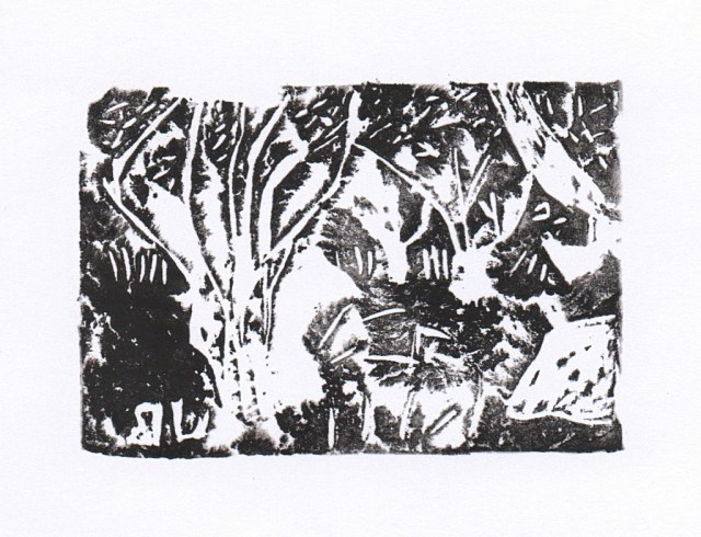 Almond Orchard - Print 1