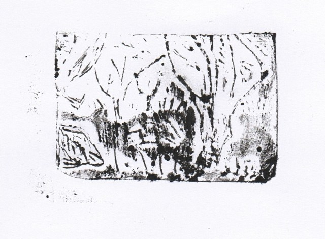 Almond Orchard - Print 2