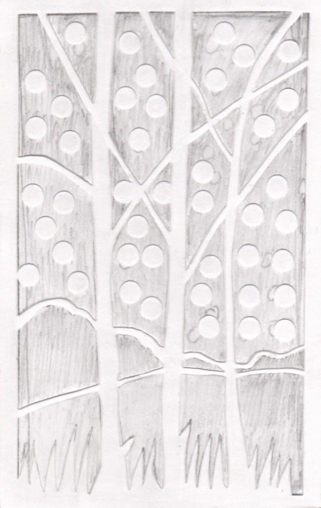 Birches Plate