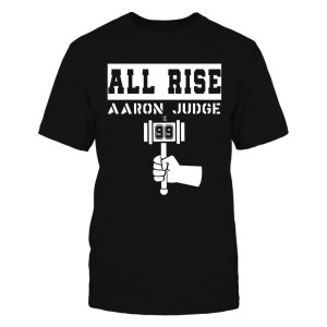 All Rise - Aaron Judge Black 99 Gavel