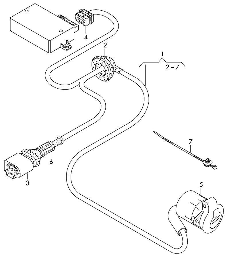 Diagram Audi Q7 Trailer Wiring Diagram Lorilee Pringle Diagram