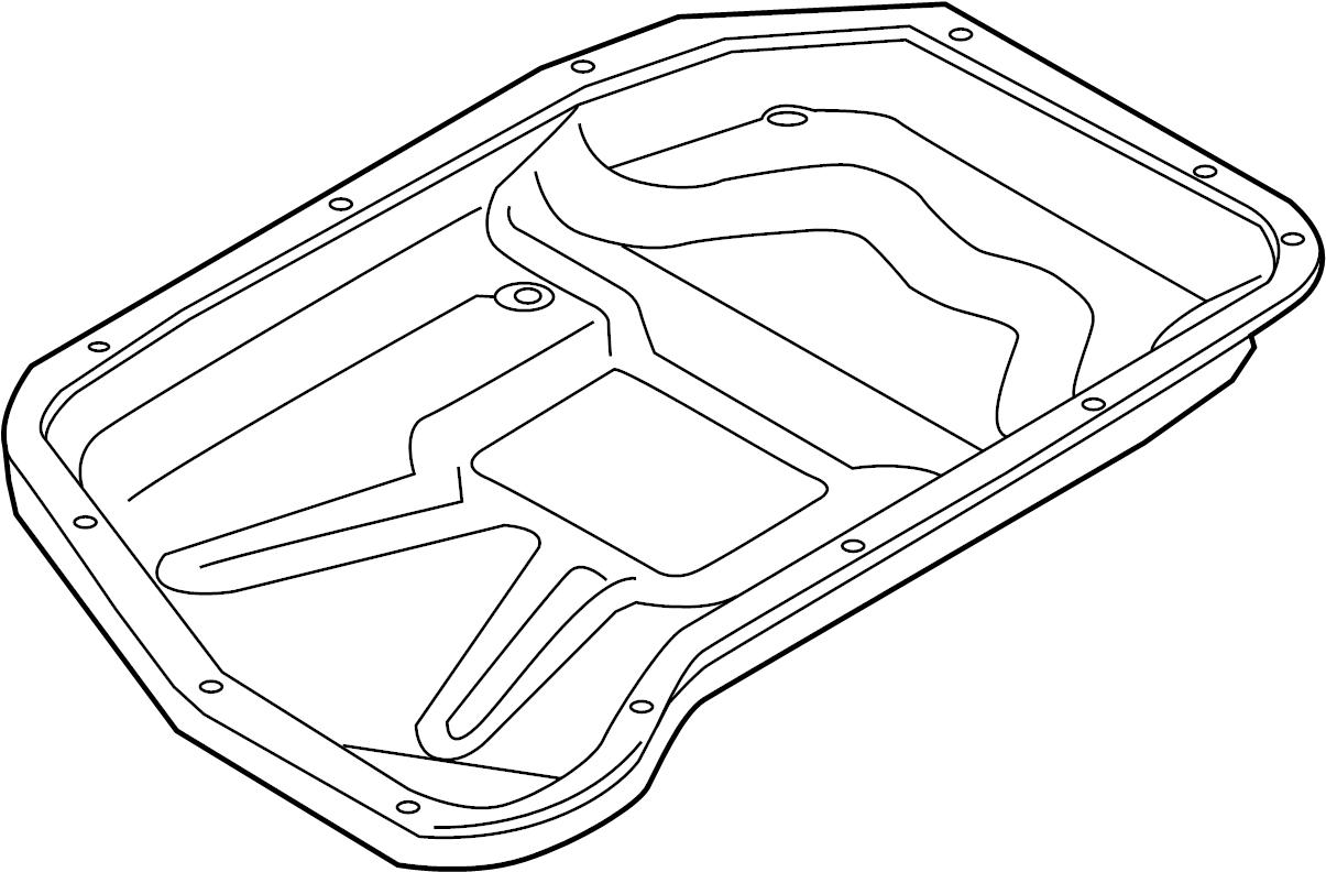 Audi S5 Sportback Transmission Oil Sump Transm Oil