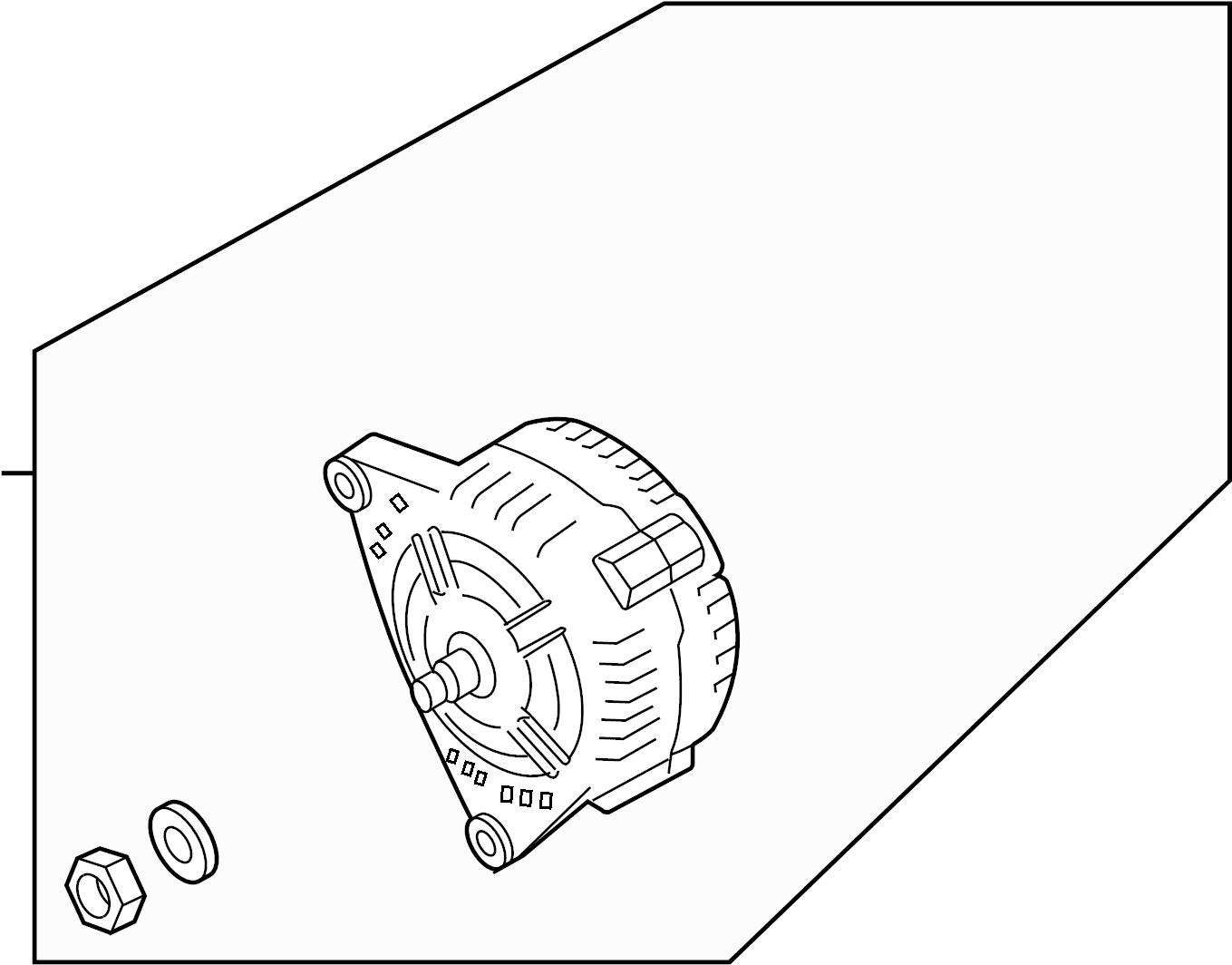 Audi A6 Alternator Single Parts Audi