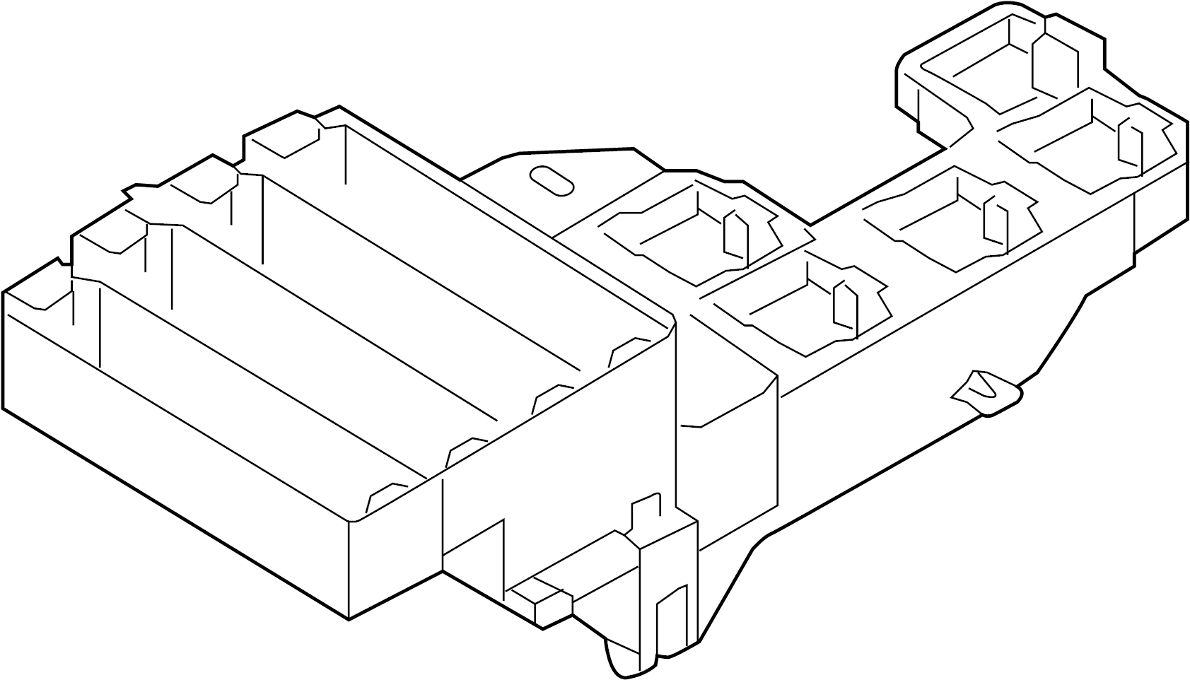 Audi S5 Sportback Relay Plate And Holder Fuse