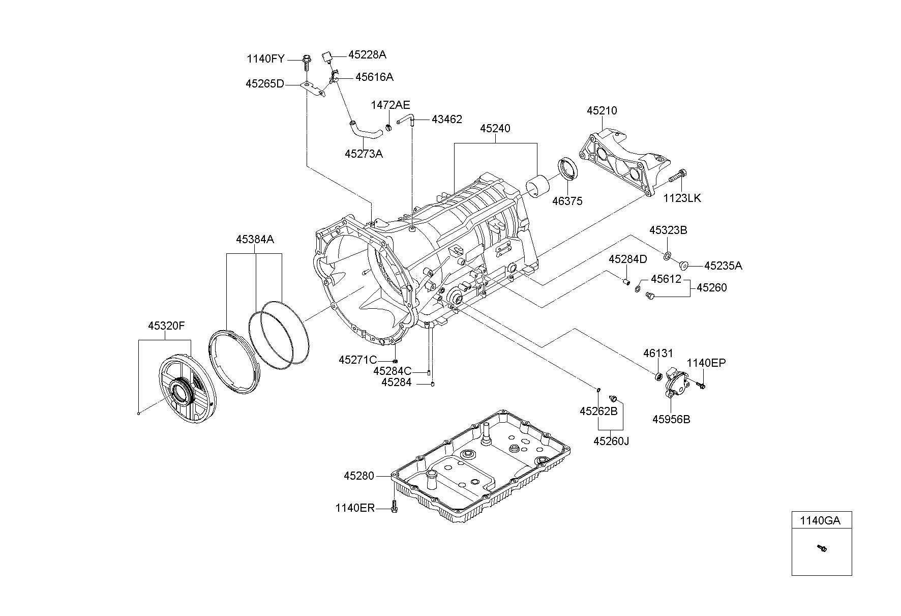 Hyundai Genesis Switch