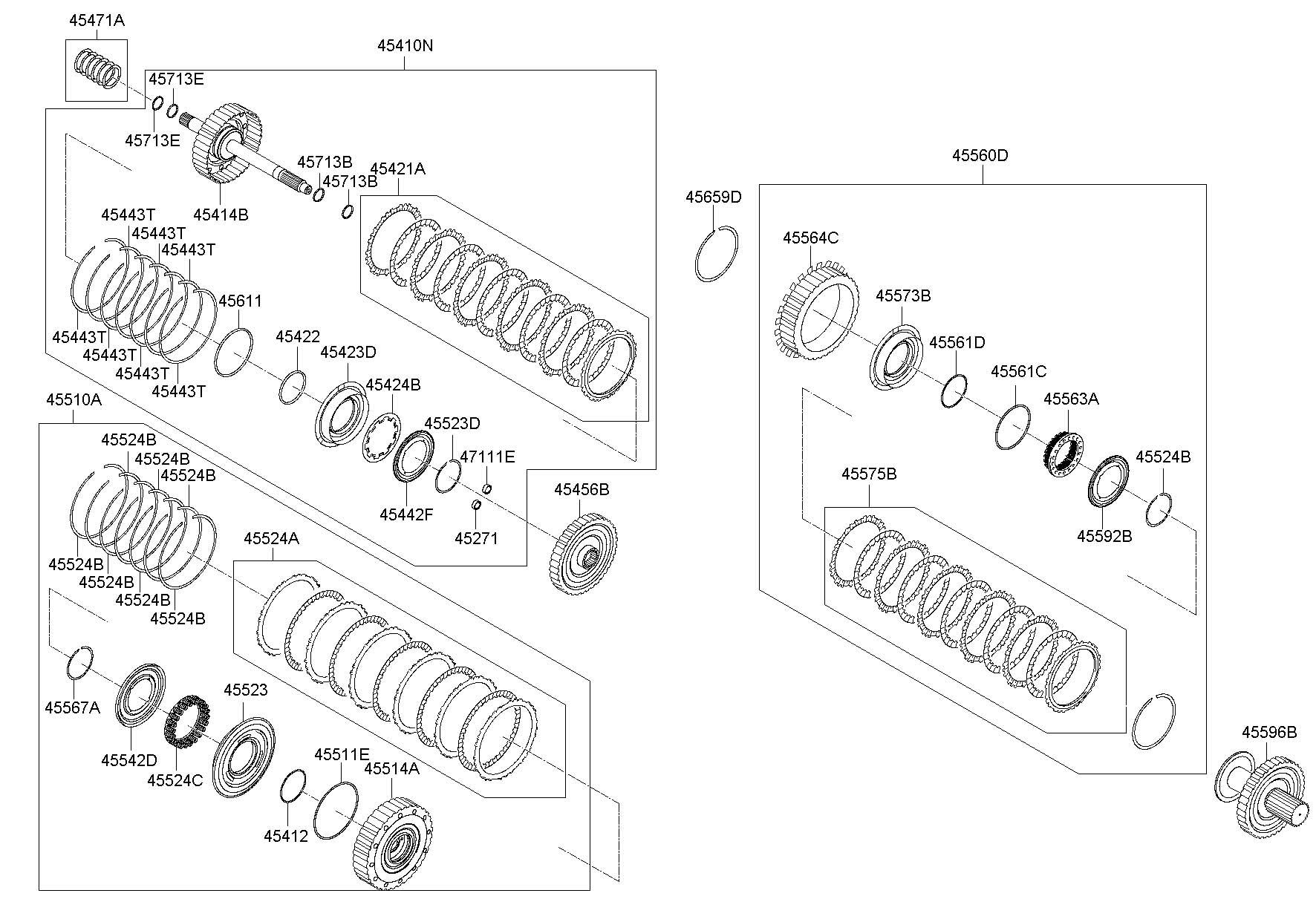 Hyundai Sonata Clutch Assembly