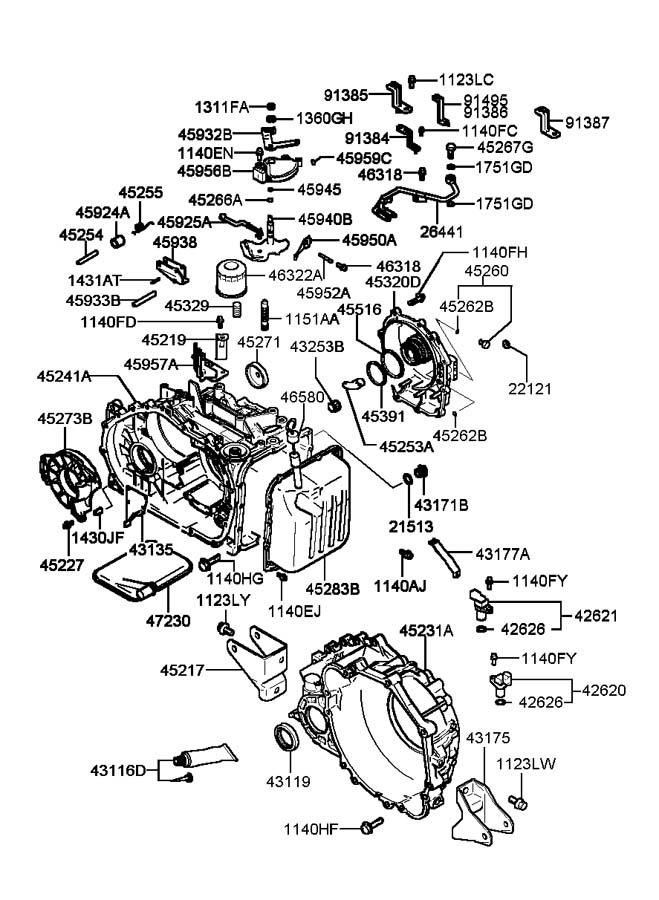 Firing Order 2005 Hyundai Xg350 L