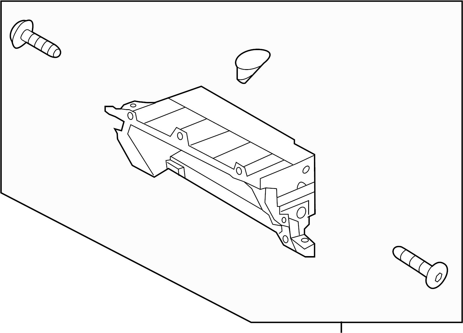 Hyundai Elantra Glove Box Housing Assy