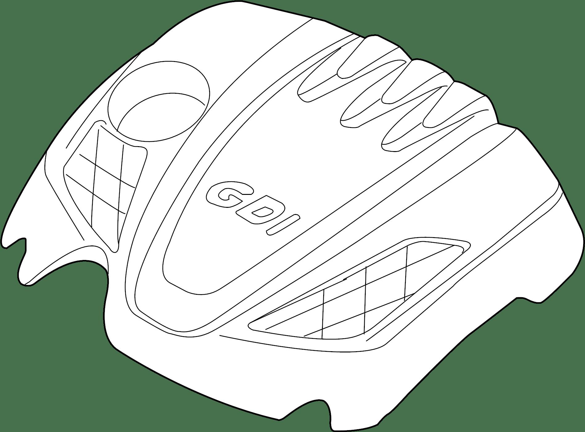 Hyundai Santa Fe Cover Assembly